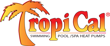 Swimming Pool tropical logo